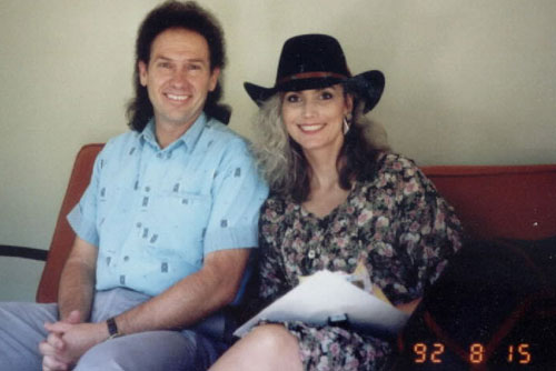 Al Perkins and Emmylou Harris